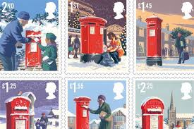 Royal Mail Christmas 2018 stamps