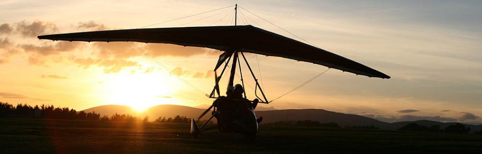 Microlight experience in Scotland
